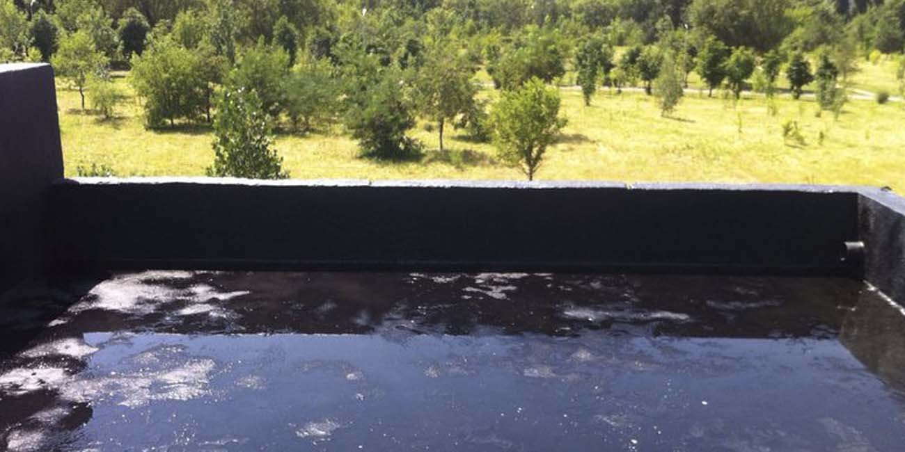 Гидроизоляция террасы частного дома